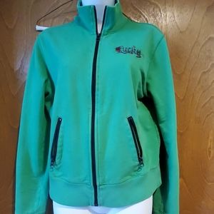 Lucky brand lucky 13 graphic jacket